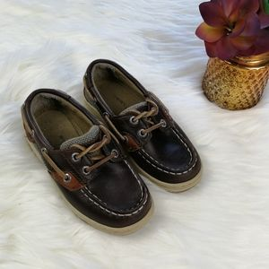 Sperry Top-Spider Boys Shoes Size 9